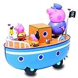Giochi Preziosi - Peppa Pig La Barca di Nonno Pig con 3 Personaggi