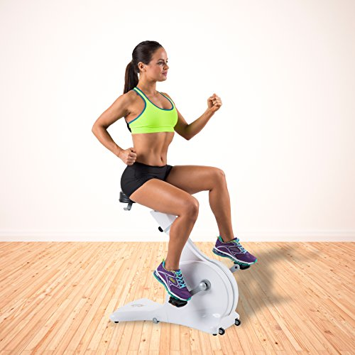 51w5HvHZt8L. SS500  - Cycle Tone Unisex Toning System, incl. Bonus Digital Monitor Exercise Bike, White