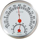 Acero inoxidable térmica de/higrómetro ETH 30