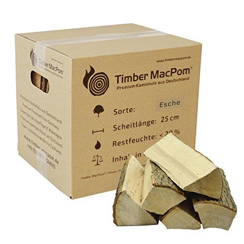Preisvergleich Produktbild Premium Kaminholz im Karton, Esche, ca. 10 kg