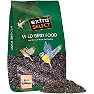 Extra Select Black Sunflower Seed Wild Bird Food 12.75 Kg