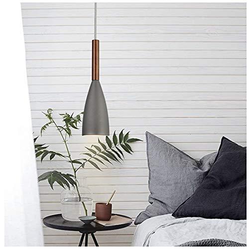 Chandelier 1 Kronleuchter Schlafzimmer Persönlichkeit Kreative Einfache Restaurant Industrielle Wind Wasserleitung Zement Einzelkopf DREI Köpfe Licht(einstellbar),C