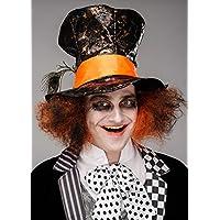 Magic Box Sombrero de Sombrerero Loco Oscuro gótico para Hombre con Pelo