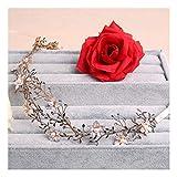 MTWTM Haarspangen Braut Headwear Hair Ribbon Weibliche Kopfbedeckung Hochzeit Zubehör Ästhetik Brautjungfern Blumen Temperament Eleganz