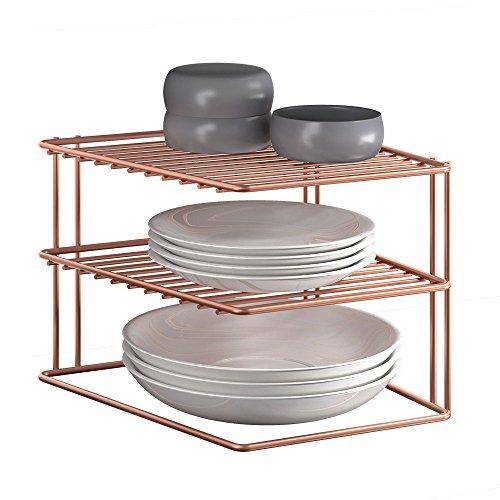 Metaltex Palio Copper - Rinconera 2 Pisos, Color Cobre
