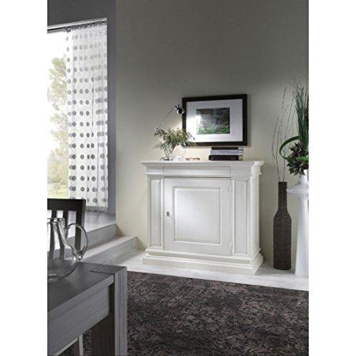 estea meubles – Buffet credenzina en bois massif col blanc ou ivoire – Divers Couleurs