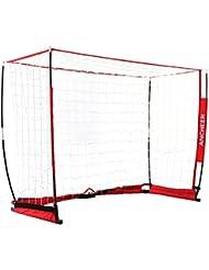 Ancheer Fußballtor, Quadratische Faltbare Fußball Netz mit Tragetasche, für Kinder und Erwachsene - 3.6 x 1.8 M & 1.8 x 1.2 M