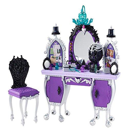 Mattel Ever After High BDB17 - Raven Queens Schicksals-Frisierkommode