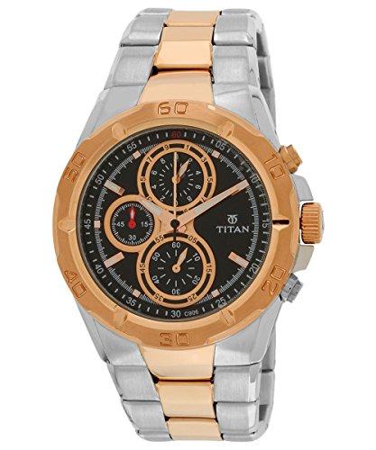 51w5KyfEzdL - Titan NE9308KM02J Octane Chronograph Mens watch