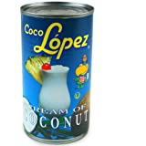 Coco Lopez Coconut Cream Tin 425g | Real Cream of Coconut - Pina Colada Cocktail Mixer by drinkstuff