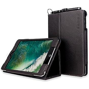 iPad Mini Case, Snugg™ Black Leather iPad Mini 1 & 2 Smart Case Cover [Lifetime Guarantee] Protective Flip Stand for Apple iPad Mini 1 & 2 With Auto Wake & Sleep