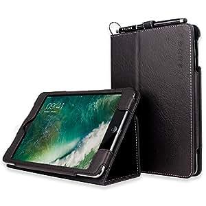 TheSnugg B0092PZZLS Blatt Schwarz Tablet-Schutzhülle - Tablet-Schutzhüllen (Blatt, Schwarz, Kunstleder, Apple, iPad mini, Staubresistent, Kratzresistent)