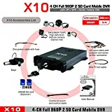 X10S Für Android Für iOS Live H.264 AHD 720P CMS Überwachung Mobile DVR 4 Kanäle Mobile DVR Für Fahrzeuge