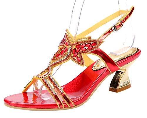 honeystore-damens-stammiger-absatz-handgemacht-strass-sandalen-rot-37-eu