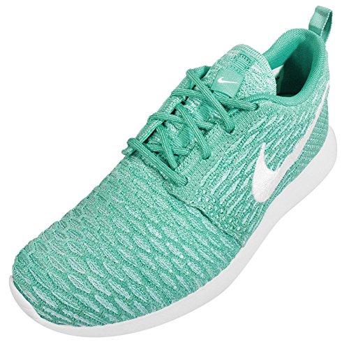 Nike Rosherun Flyknit Damen Sneaker Green