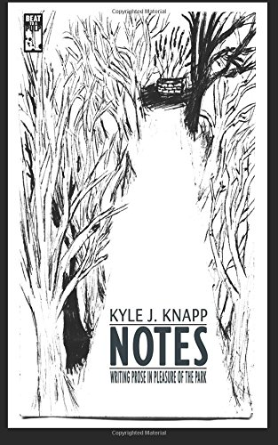 Book Cover - Notes: Writing Prose in Pleasure of the Park by Kyle J. Knapp