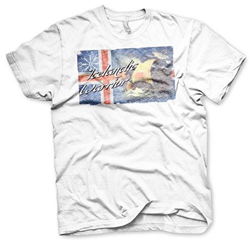 Icelandic Warrior - Tshirt Weiß