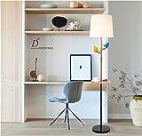 GMM Stehleuchte einfache kreative Baum 杈 Vogel niedlich praktische Wohnzimmer Studie Schlafzimmer LED Stehleuchte,B