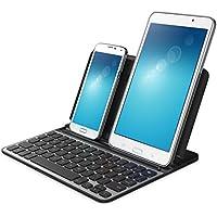 Belkin F5L175eaBLK Teclado LapStand QWERTY para tablet y otros dispositivos móviles con iOS y Android compatible con Samsung Galaxy S7 y S7 edge