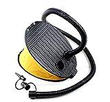 JZK® 3L Verschiebung Fußpumpe, aufzublasen und zu entlüften, für die Pool / Boje / Schwimmringe / Matratze / Luftmatratze / andere aufblasbare Produkte, Outdoor-Camping, Reisen
