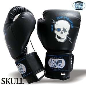 """BAY® """"TOTENKOPF"""" Kinder Boxhandschuhe 4 Unzen"""