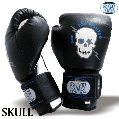 BAY® Totenkopf (Sweet Skull) Kinder Boxhandschuhe (2 Unzen)