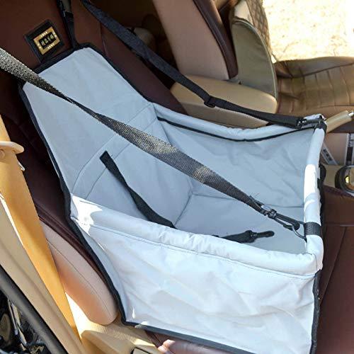 GCSEY Pet Booster-Sitz, Deluxe Pet Dog Booster-Autositz Mit Aufsteckbarer Sicherheitsleine Und Reißverschluss-Aufbewahrungstasche Perfekt Für Kleine Und Mittlere Haustiere (Pet-booster Träger)