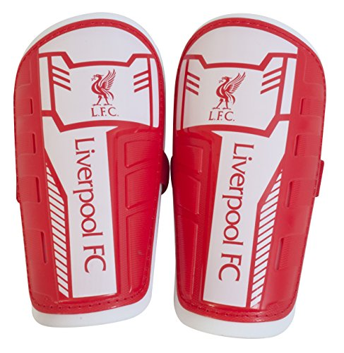 Liverpool FC Unisex s Official Slip in Shinguards  Multi-Colour  X-Small Youth