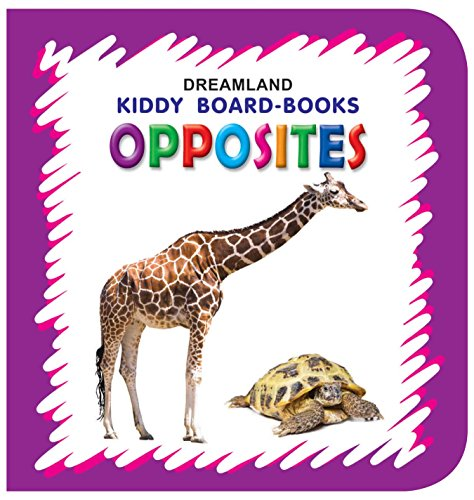 Kiddy Board Book - Opposites (English Edition)