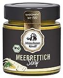 Münchner Kindl Senf Bio Meerrettich Senf, 125 ml