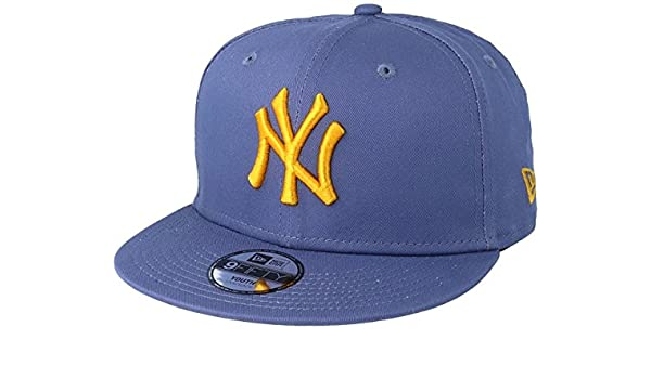 54fa69a8ae29b New Era Kids New York Yankees League Essential 9Fifty Blue Snapback   Amazon.co.uk  Clothing