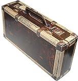 Schwarzwald Metzgerei - Geschenkebox im Koffer Design aus stabilem Karton, in sehr schöner in Holzoptik - 360 x 182 x 9