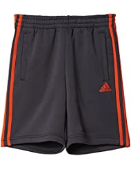 adidas YB 3S KN Short Shorts for Boys, Black (Neguti)