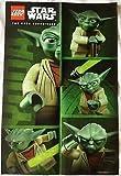 STAR WARS 'Lego Póster Yoda El Poder Sé con Dir de 2013