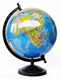 STUDENT WORLD LAMINATED GLOBE WITH METAL BASE (8 INCH)