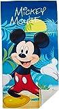 Die besten Disney Handtücher Bäder - Mickey Maus Strandtuch 70x140 cm Saunatuch Badetuch Handtuch Bewertungen