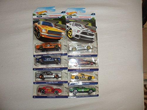 Hot Wheels Ford Performance 8er Fahrzeuge Set im Maßstab 1 : 64