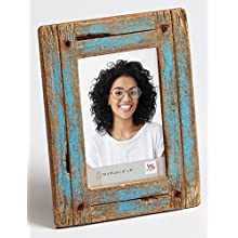 Walther Dupla Picture Frame, blue, 10 x 15 cm