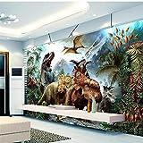 Finloveg Papier Peint Personnalisé Papier Peint Mural Dinosaure Photo 3 D Tv Salon Des Enfants Salon PapierPeintPapierPeint-200X140Cm