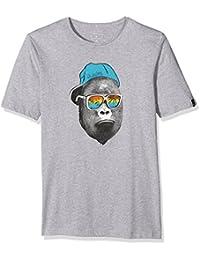 Quiksilver SS ClassicYouth Kong Business - Camiseta para niño, color rosa, talla M