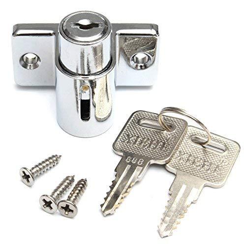 hanperal Aluminium Schiebetür Terrasse Fenster Bolt Verriegelung Push Lock Security Kind (Lock Security Schiebetür)
