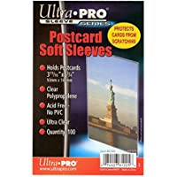 100 Ultra Pro Postcard Soft Sleeves - Postcards - 93 x 146 mm