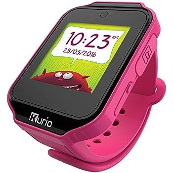 Kurio Watch Reloj Inteligente Negro, Rosa LCD 3,91 cm (1.54