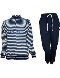 lancetti Tuta Donna Cotone Full Zip Homewear Sport e Tempo Libero Art. LF211 3c305e9355b