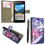 GSD STYLE YOUR MOBILE {TM} HUAWEI ASCEND Y550 VARIOUS FLIP
