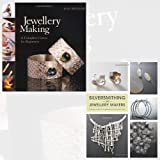 Jewellery Making and Silversmithing for Jewelry Makers 2 Books Bundle Collection - A Complete Course for Beginners [Hardcover]