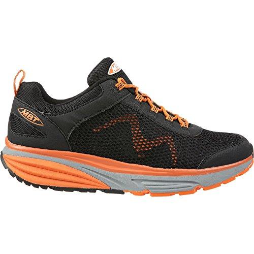 Chaussures MBT 700925-1114Y COLORADO ORANGE Noir/orange