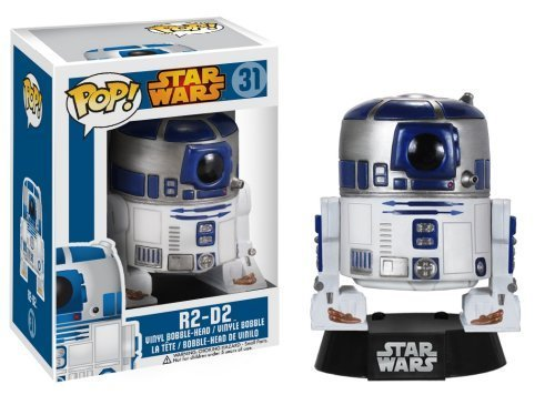 Funko POP Star Wars: R2-D2 Bobble Figure by Funko TOY (English Manual)