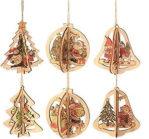 ilauke Decoración del árbol Navideño