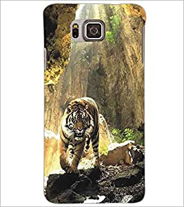 SAMSUNG GALAXY ALPHA TIGER Designer Back Cover Case By PRINTSWAG